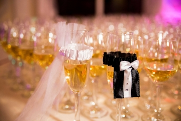dekoracje nowoczesnego wesela - sampan